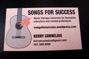 My first official business card!
